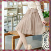 Young girl pleated chiffon fashion skirt