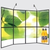 panel, pop up panel, exhibition equipment, display panel, curved panel