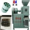 Coke powder briquetting press