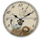 homedecor antiques clock manufacturer China, new christmas musical clock, street clock in bulk