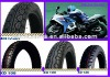 Motorcycle tubeless tire/tyre