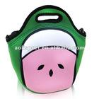 2012 hot sale foldable neoprene SBR picnic lunch box for kids