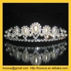 Hair tiara with pearl