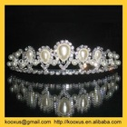 Hair tiara with pearl
