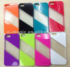 For iPhone 5 plain crystal case cover