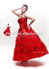 lovely affordable red sweetheart satin ans tulle red quinceanera dress 25