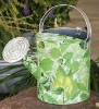 Metal 5 Litre Watering Can with Flower Design Print