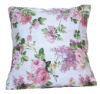 printed back pillow, cushion