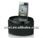 Portable IPhone docking/dock with speaker/alarm clock/fm/remote