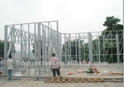 ready made low cost eco-friendly anti-earthquake light steel frame prefabricated house & homes /prefab house