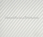 High Quality 3D White Texture Carbon Fibre Vinyl Twill Car Wrap Sticker Bubble Free
