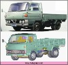 Scale Canter plastic die cast model truck