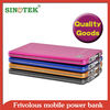 GZ SINOTEK 3500mah unique new design 6.8mm wallet super ultra slim power bank