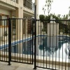 assembled pool wall iron fence