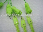 High quality promoted green color polyester lanyard