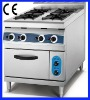 CY-4T gas cooker with oven
