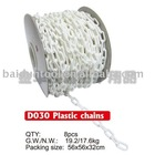 8MM plastic link chain