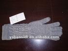 knitting ladies' 100% cashmere gloves