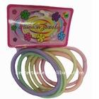 Fashion 4*13mm glue elastic hairband