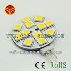12vDC G4 12smd5050 side pins white