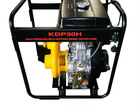 KDP30HI 3''/55m High Lift Diesel Engine Iron Cast Water Pump Set With Large Fuel Tank