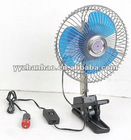 12V/24V 6inch Oscillating Car Fan