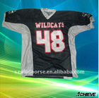 sublimation football jersey with high quality