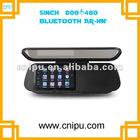 Touch screen 5 inch GPS rearview mirror wireless camera bluetooth Av in