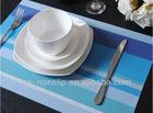 Handmade Heat-insulation PVC woven dining mat