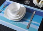 Handmade Heat-insulation PVC woven dining mat