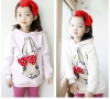 2012 Fashion beautiful children girls hoodie