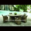 outdoor leisure ratttan table A60101CH