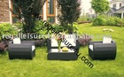 Rattan Wicker garden sofa furniture set