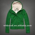 Ladies cotton jacket with lambswool lining short slim blazer 2012