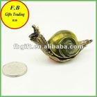 Vintage Snail Metal Jewelry Box/Case (FB008546)