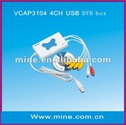 4ch USB DVR with real time H.264