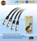 2 RCA to 2 RAC CABLE INTERCONNECR (R1082)