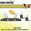 OK-9200 Dual Channels/UHF PLL 32/96 ,True Diversity