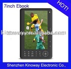 7 inch ebook (Keypad)