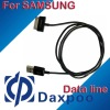HOT!! sycn Charging &usb data cable for samsung mobile phone Galaxy Tab GT-P1000