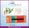 Non-standard PVC Promotional Stress Test Card