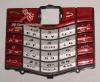 plastic keypad for 8100 8120 red