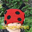Kids knit beanie hat pattern crochet cap