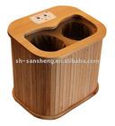 portable wooden sauna