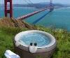MSpa Inflatable & Portable Spa, Hot Tub Elegance B-140 Grey