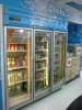 2012 new style of suppermarket refrigerator glass door