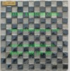 Glass MIX STONE mosaic tiles