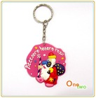 Soft PVC key chain