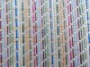 colorful paper straw fabric,knitted fabric,paper fabric,shoes material