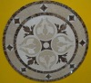 Mixed marble mosaic/ medallion